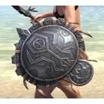 Elder Argonian Ruby Ash Shield