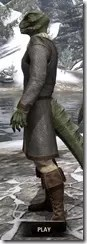 Forge-Wife's Impervious Frock Argonian Male Side
