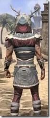 Huntsman Ancestor Silk - Male Shirt Close Rear