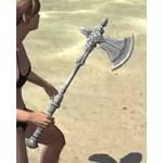 Silver Dawn Iron Axe