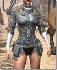Silver Dawn Iron Cuirass - Female Front