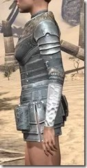 Silver Dawn Iron Cuirass - Female Side