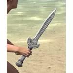 Silver Dawn Iron Dagger