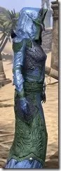 Dremora Ancestor Silk - Dyed Robe Close Side