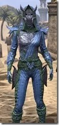 Dremora Ancestor Silk - Dyed Shirt Close Front