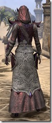 Dremora Ancestor Silk - Female Robe Rear