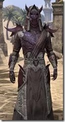 Dremora Ancestor Silk - Male Robe Close Front