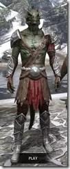 Arena Gladiator - Argonian Male Front