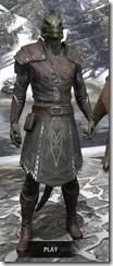 Austere Warden - Argonian Male Front