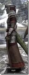 Battlemage Tribune Armor - Argonian Male Side