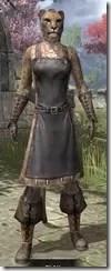 Blacksmith - Khajiit Female Front