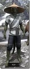 Budi-Shirt and Galligaskins - Argonian Male Front