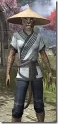 Budi-Shirt and Galligaskins - Khajiit Female Close Front