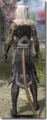 Cavalier of the Sworn Oath - Khajiit Female Rear