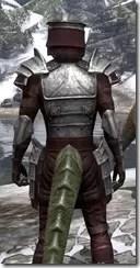Centurion Dress Armor - Argonian Male Close Rear