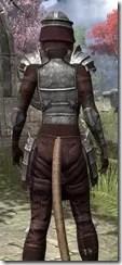 Centurion Dress Armor - Khajiit Female Close Rear