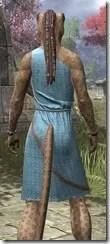 City Isle Tunic Dress - Khajiit Female Close Rear