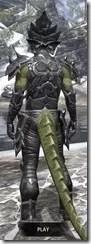 Dark Seducer - Argonian Male Rear
