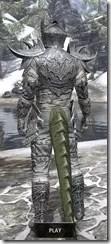 Dremora Iron - Argonian Male Rear