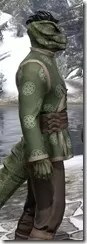 Eternity Tunic with Pants - Argonian Male Close Side