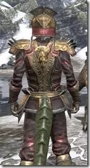 Imperial Chancellor - Argonian Male Close Rear