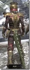 Imperial Chancellor - Argonian Male Rear