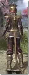 Imperial Chancellor - Khajiit Female Rear