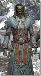 Mages Guild Formal Robes - Argonian Male Close Front