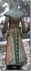 Mages Guild Formal Robes - Argonian Male Rear