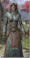 Mages Guild Formal Robes - Khajiit Female Close Front