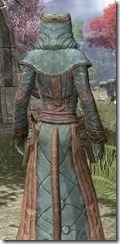 Mages Guild Formal Robes - Khajiit Female Close Rear
