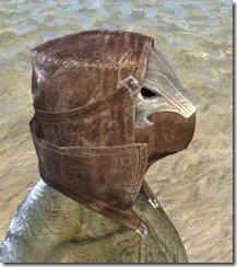 Malefic Standing Collar Hood Argonian Male Right