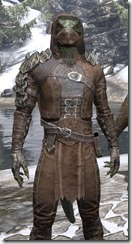 Naryu's Morag Tong Costume - Argonian Male Close Front