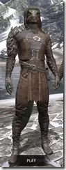 Naryu's Morag Tong Costume - Argonian Male Front