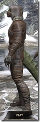 Naryu's Morag Tong Costume - Argonian Male Side