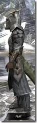Nedic Duraki Armor - Argonian Male Side