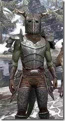Nedic Perena Armor - Argonian Male Close Front