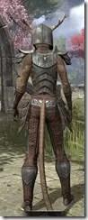 Nedic Perena Armor - Khajiit Female Rear