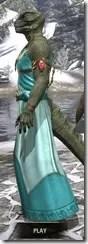 Nibenese Noble's Shawled Robe Argonian Male Side
