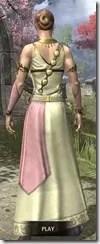 Nibenese Noble's Shawled Robe Dyed Rear