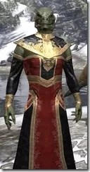 Orc Wise Woman's Vestment Argonian Male Close Front