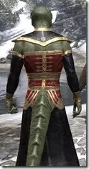 Orc Wise Woman's Vestment Argonian Male Close Rear