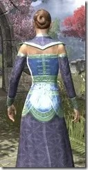 Orc Wise Woman's Vestment Dyed Close Rear