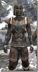 Orcisg Scout Armor - Argonian Male Close Front