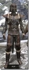Orcisg Scout Armor - Argonian Male Front