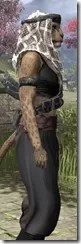 Pirate First Mate's Outfit - Khajiit Female Close Side