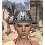 Plumed Mourning Hat