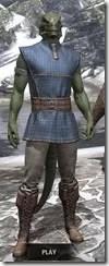 Rawhide-Laced Riften Jerkin Argonian Male Front