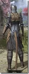 Renegade Dragon Priest Khajiit Female Rear
