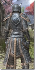 Skinchanger Iron - Khajiit Female Close Rear
